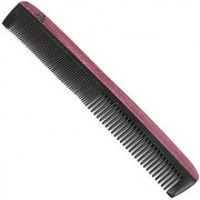 Evolatree - Wooden Comb Fine Tooth Barber Cutting Comb Purpleheart & Ox Horn 7