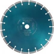 Extol Industrial gyémántvágó BETON-ra, ipari korong, szegmenses; 350×25,4mm, száraz és vizes vágásra 8703082