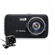 Camera Auto Dubla iUni Dash DC04 Full HD Senzor G LCD 4.0 Inch Detectare miscare Night vision