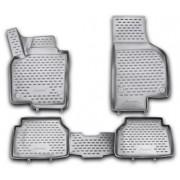 Set Covorase Auto NOVLINE NVFREBL4007RE, fata/spate, 4 buc., tip tava, dedicate VW Tiguan 10/2007 (Negru)