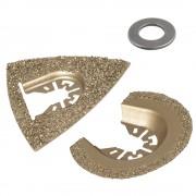 Wolfcraft Vágó- és csiszolókészlet rezgőkéses gépekhez, HM, kő/csempe 3993000