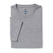 ランズエンド LANDS' END メンズ・スーパーT/ポケット付き/半袖/Tシャツ(グレーヘザー)