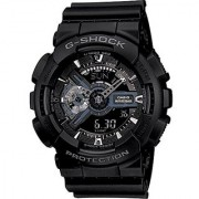 Casio G-Shock Analog-Digital Black Dial Mens Watch - GA-110-1BDR (G317)