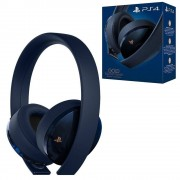 Sony Official PlayStation 4 Gold Wireless Headset - 500 Million (PS4)