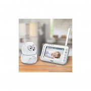 VTech VM344 Safe & Sound Expandable Digital Video Baby Monitor With Pan & Tilt Camera And Automatic Night Vision