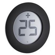 Eva Solo Thermomètre digital d'extérieur / Autocollant - Pour fenêtre - Eva Solo noir,acier en métal