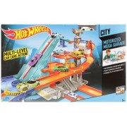 Set Piste Hot Wheels Motorized Mega Garaj BGJ18