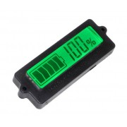 Tester Con Display Lcd Per Batterie