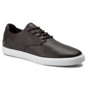 Обувки LACOSTE - Esparre Bl 1 Cma 7-37CMA00952A6 Dk Brw/Wht