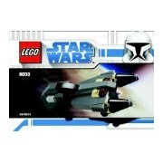 Lego Star Wars Set #8033 General Grievous Starfighter