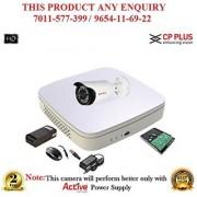 Cp Plus 1.3 MP Full HD 4CH DVR + Cp plus HD Bullet IR CCTV Camera 1Pcs + 1TB HDD CCTV COMBO