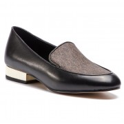 Лоуфъри MICHAEL MICHAEL KORS - Valerie Slip On 40R9VAFP2L Blk/Brown