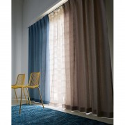 幅150×丈90cm(2枚組)(ツイード調100サイズカーテン)
