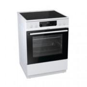 Готварска печка Gorenje EC6352WPA, клас А, 4 стъклокерамични нагревателни зони, 67 л. обем, AquaClean почистване, бяла