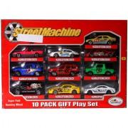 Jain Gift Gallery street machine 10pc Cars Play Set