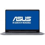 "Ultrabook™ ASUS VivoBook S15 S510UN-BQ175 (Procesor Intel® Core™ i5-8250U (6M Cache, up to 3.40 GHz), 15.6"" FHD, 4GB, 1TB HDD @5400RPM, nVidia GeForce MX150 @2GB, Endless OS, Gri)"