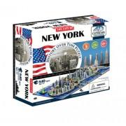 4D Cityscape New York City Skyline Time Puzzle
