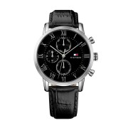 Tommy Hilfiger Mens Watch Model 1791401 (Black)