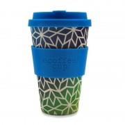 Ecoffee cup KUBEK Z WŁÓKNA BAMBUSOWEGO STARGATE 400 ml - ECOFFEE CUP