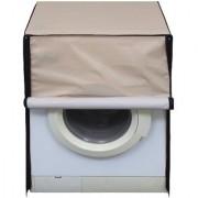 Glassiano waterproof and dustproof Beige washing machine cover for Samsung WF8558NMW8 Washing Machine