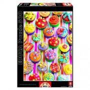 Educa Howard Shooter: Színes muffinok puzzle, 500 darabos