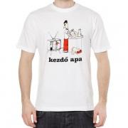 Kezdő apa - Tréfás póló