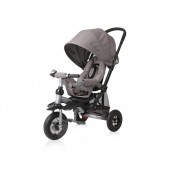Tricicleta pentru copii Jet Air roti mari cu camera Ivory