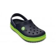 Crocs Crocband™ Klompen Kinder Navy / Volt Green 32