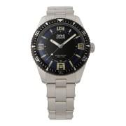 【50%OFF】Divers Sixty-Five ラウンド デイト ウォッチ フェイス:ブルー ベルト:シルバー ファッション > 腕時計~~メンズ 腕時計