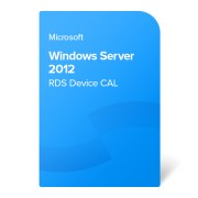 Microsoft Windows Server 2012 RDS Device CAL, 6VC-01755 elektroniczny certyfikat