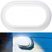Luminea Stossfeste LED-Feuchtraumleuchte, 540 Lumen, 8 Watt, 4000 K, IP54, IK08