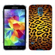 Husa Samsung Galaxy S5 Mini G800F Silicon Gel Tpu Model Animal Print Leopard