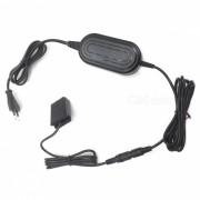 AC-PW20 Adaptador de corriente para Sony A7M2 A7S A7R A7 RX10-Negro (enchufe UE)