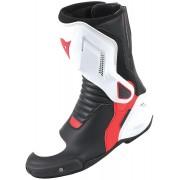 Dainese Nexus Botas de moto Negro Blanco Rojo 46