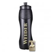 Športová fľaša čierna Weider 1000ml