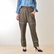 KiKKi 裁ち切り裏毛パンツ【QVC】40代・50代レディースファッション