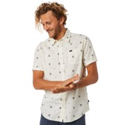 Rip Curl Spring Palm Mens Ss Shirt Bone