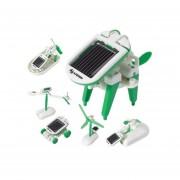 Kit Juguete Energía Solar 6en1 Niño Armar Educativo Steren