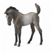 Figurina Manz Mustang Grulla, 9 x 8 cm