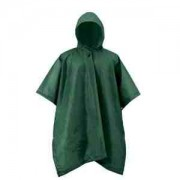 Adult Green Re-Usable PVC Ponchos