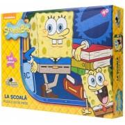 Puzzle 60 piese La scoala Spongebob