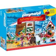 PlayMobil 4Ani+ Calendar Craciun- Atelier Mos Craciun