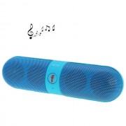 Maxy Altoparlante B6 Mini F-808 Cassa Radio Speaker Vivavocebluetooth 2.1 Universale Blu Per Modelli A Marchio Itt