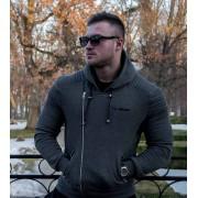 GymBeam Dukserica Flexin Grey S