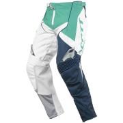 Scott 450 Podium Pantalones de Motocross Verde Azul 36
