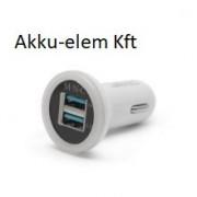 Adapter USB 1000mA-2100mA 5V fehér