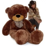 5 feet Chocolate teddy bear / Big very soft for pleasant Gift