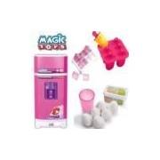 Geladeira Mágica Super Cozinha Infantil Masterchef Magic Toy