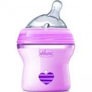 Бебешко шише за хранене 150 мл. Nurs NF, Chicco, момиче, 2522142