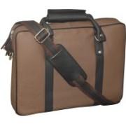 Kan Brown Genuine Leather Backpack/Messenger Bag For Men and Women 7 L Laptop Backpack(Brown)